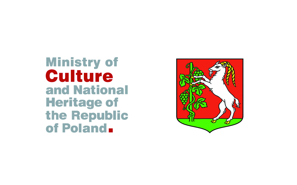 THE PROJECT SZTUKA W PRZESTRZENI PARTNERSTWA WSCHODNIEGO WAS FINANCIALLY SUPPORTED BY THE MINISTRY OF CULTURE AND NATIONAL HERITAGE OF THE REPUBLIC OF POLAND AND THE CITY OF LUBLIN.